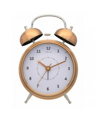 "Wecker ""WAKE UP"" Kupfer, 12,5cm (5112co)"