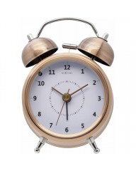 "Wecker ""WAKE UP"" Kupfer, 9cm (5111co)"